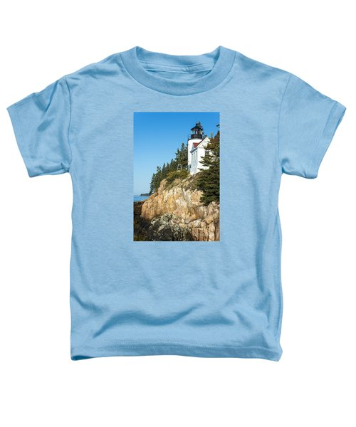 Toddler T-Shirt featuring the photograph Head Lighthouse by Anthony Baatz