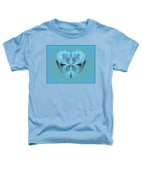 Heart - Ghost Blue Toddler T-Shirt