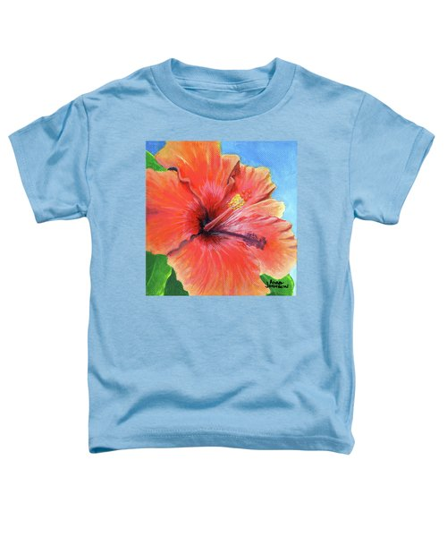 Hibiscus Passion Toddler T-Shirt