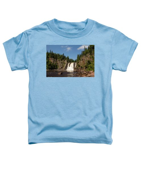 High Falls At Tettegouche State Park Toddler T-Shirt