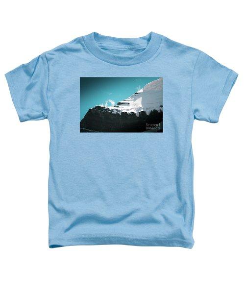 Holy Kailas Fragment Himalayas Tibet Yantra.lv Toddler T-Shirt
