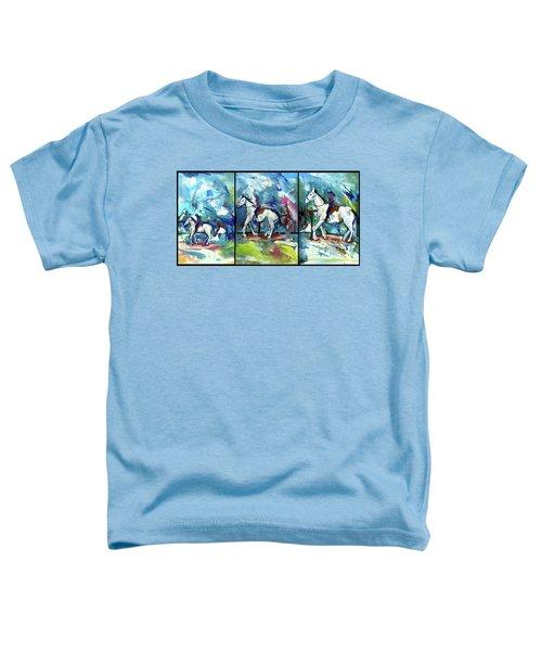 Horse Three Toddler T-Shirt