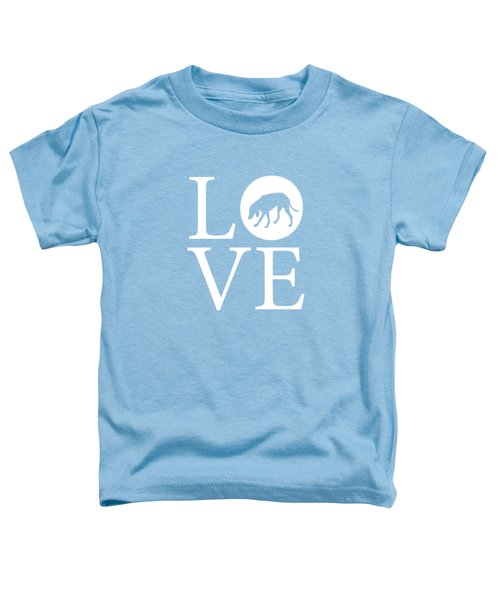 Hound Dog Love Toddler T-Shirt