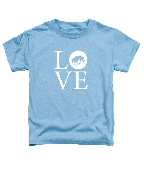 Hound Dog Love Toddler T-Shirt