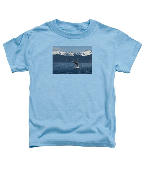 Humback Whale Full Breach Toddler T-Shirt