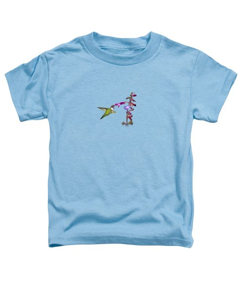 Hummingbird Design Toddler T-Shirt