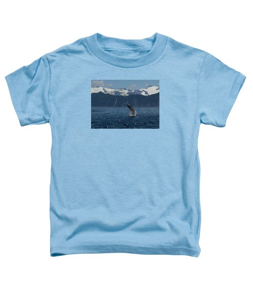 Humpback Whale Breach Seward Toddler T-Shirt