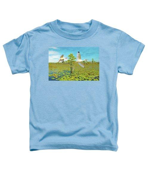Ibis At Okefenokee Toddler T-Shirt