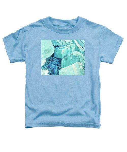 Ice Pushed Up On A Lake Toddler T-Shirt