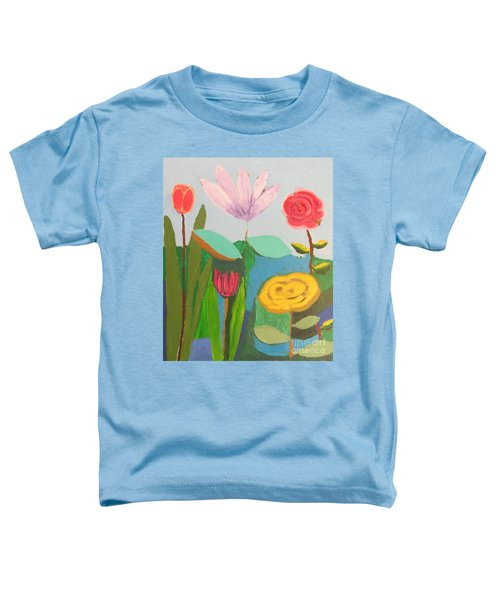 Imagined Flowers One Toddler T-Shirt by Rod Ismay