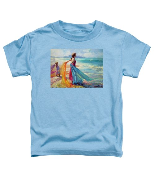 Into The Surf Toddler T-Shirt
