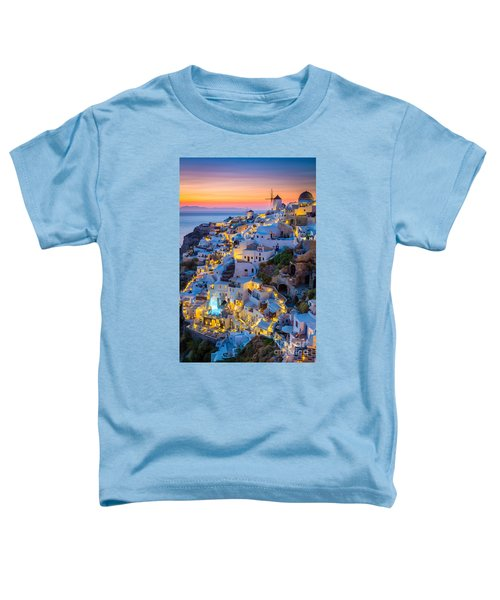 Oia Sunset Toddler T-Shirt