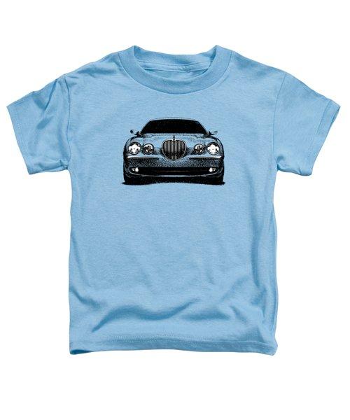 Jaguar S Type Toddler T-Shirt by Mark Rogan