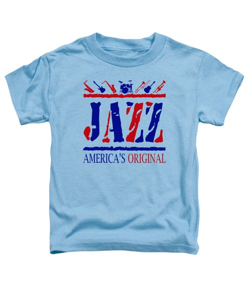 Jazz Americas Original Toddler T-Shirt by David G Paul