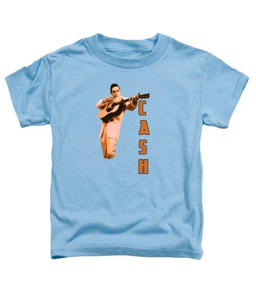 Johnny Cash The Legend Toddler T-Shirt