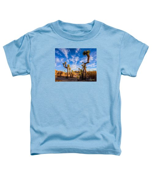 Joshua Tree Dawn Toddler T-Shirt