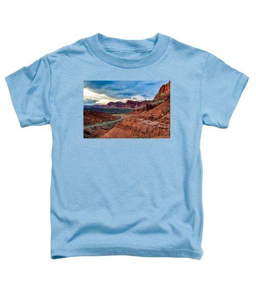 Journey Through Capitol Reef Toddler T-Shirt