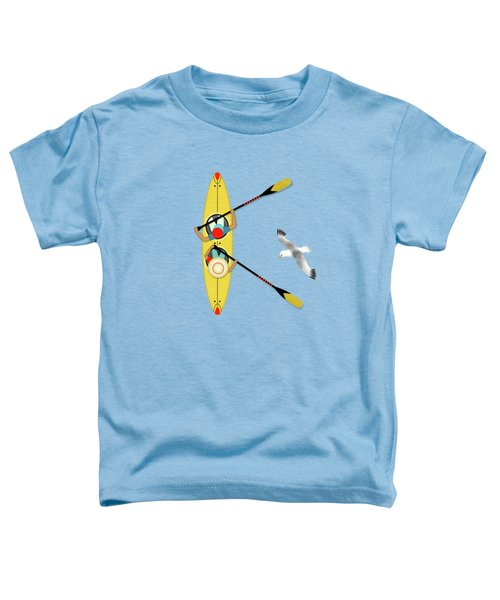K Is For Kayak And Kittiwake Toddler T-Shirt