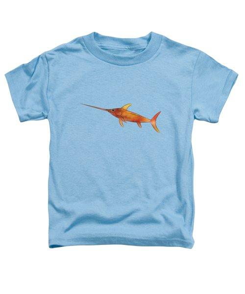 Kessonius V1 - Amazing Swordfish Toddler T-Shirt by Cersatti
