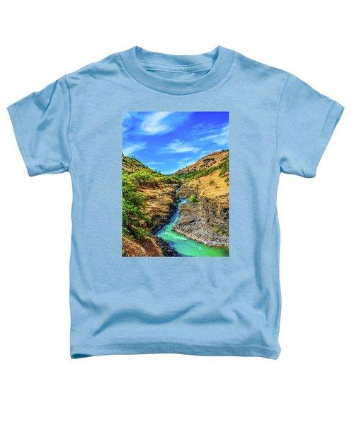 Klickitat River Canyon Toddler T-Shirt