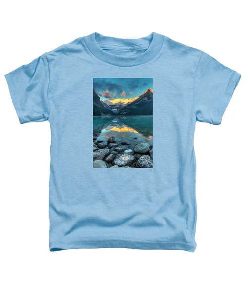 Lake Louise Sunrise Toddler T-Shirt
