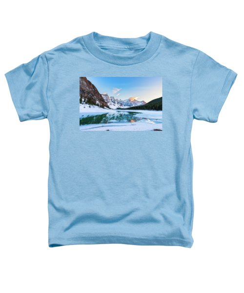 Lake Moraine Sunset Toddler T-Shirt