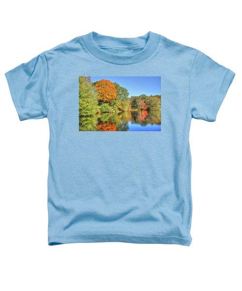 Lake Noquochoke, Dartmouth, Ma Toddler T-Shirt