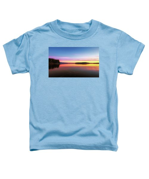 Lake Winnipesaukee Reflections Toddler T-Shirt