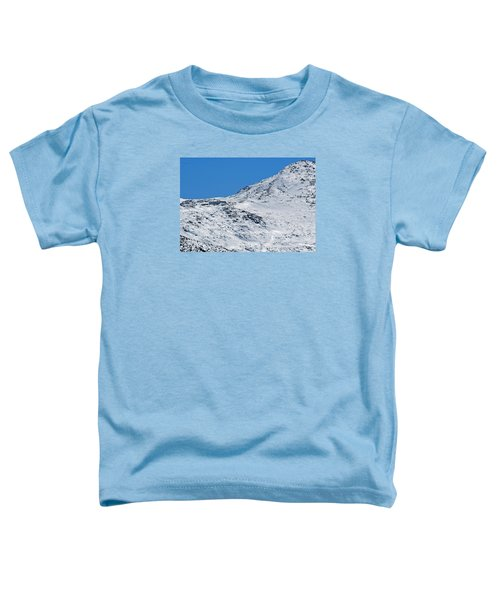 Lakes Of The Clouds Hut And Mount Monroe Toddler T-Shirt