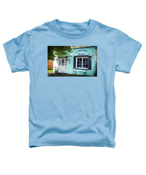 Lakeside Market Toddler T-Shirt