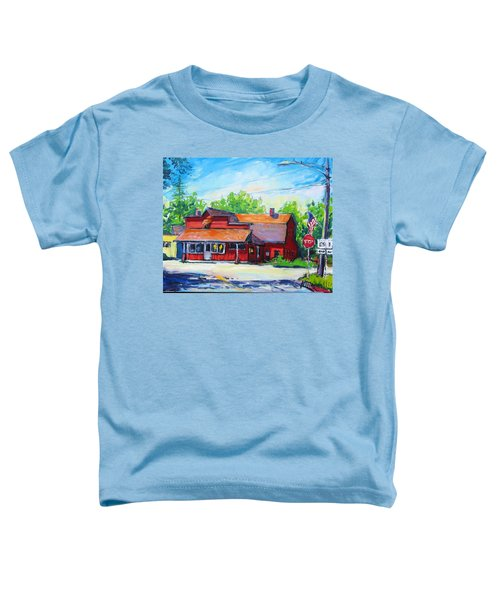Landmark Six Toddler T-Shirt
