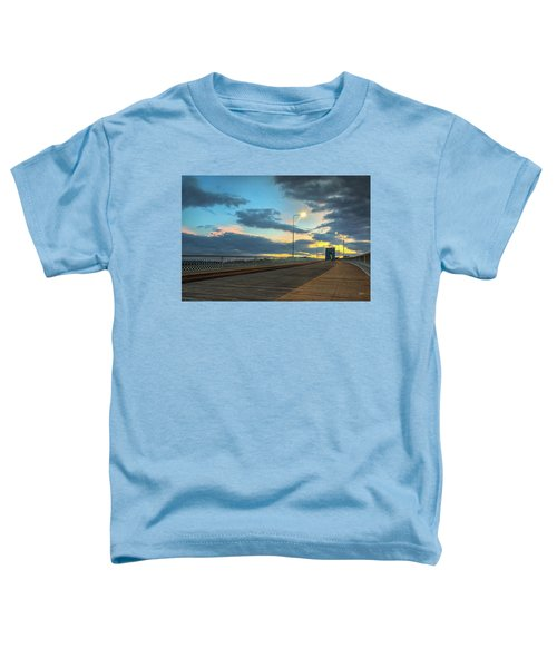 Last Light And Color Over Walnut Toddler T-Shirt