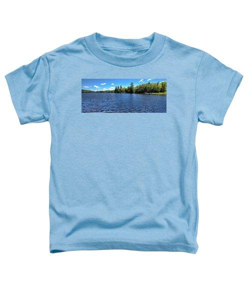 Late Spring On 6th Lake Toddler T-Shirt