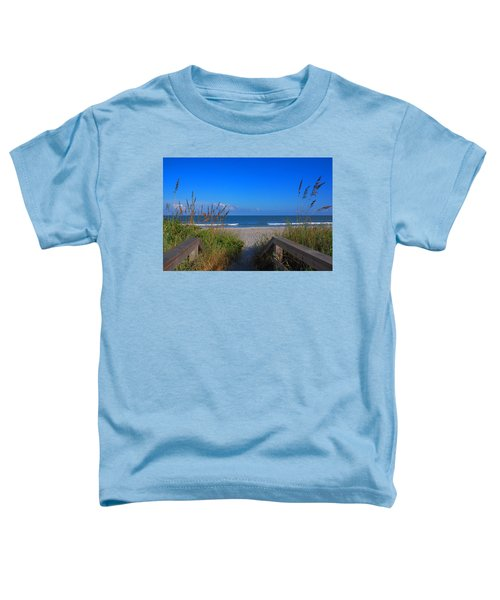 Lets Go To The Beach Toddler T-Shirt
