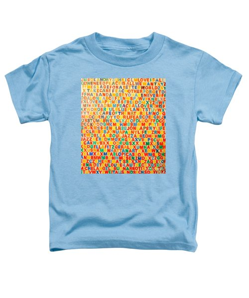 Letters Toddler T-Shirt
