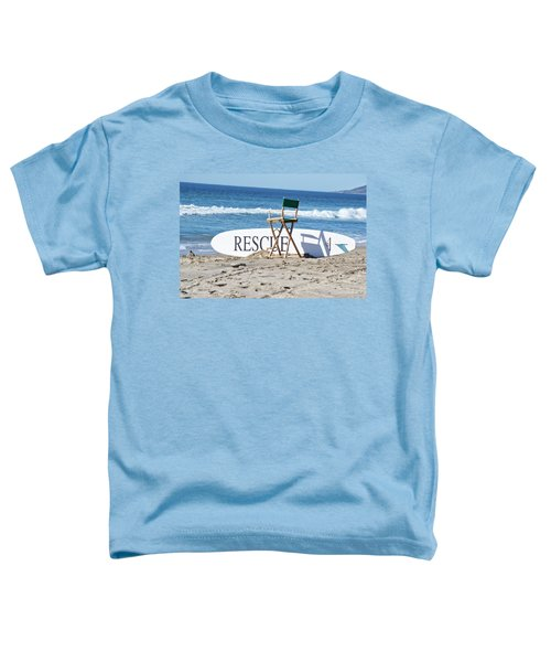 Lifeguard Surfboard Rescue Station  Toddler T-Shirt