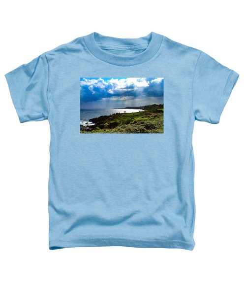 Light Streams On Kauai Toddler T-Shirt