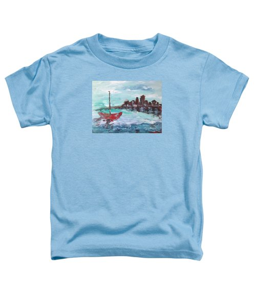 Coast Toddler T-Shirt by Roxy Rich