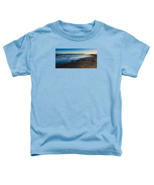 Low Tide In Winter Toddler T-Shirt
