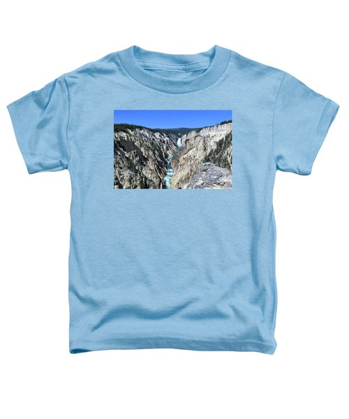 Lower Falls From Artist Point Toddler T-Shirt