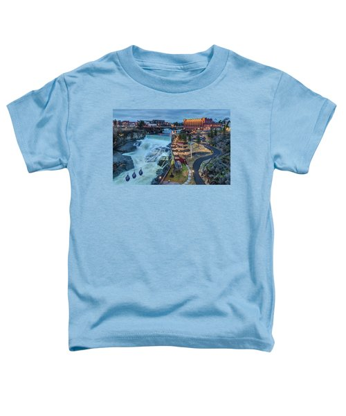 Lower Spokane Falls Early Spring Toddler T-Shirt