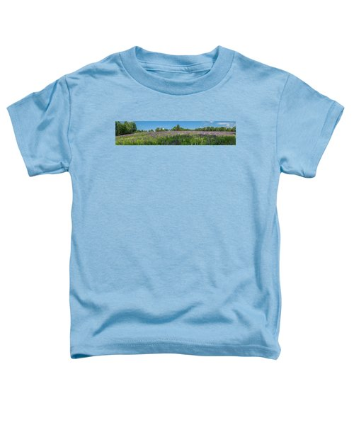 Lupine Field Toddler T-Shirt