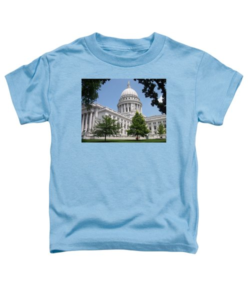 Madison Wi State Capitol Toddler T-Shirt