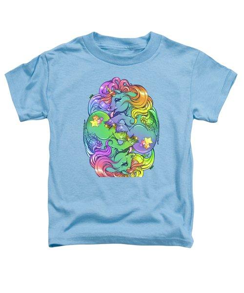 Magial Lesbian Ponies Toddler T-Shirt