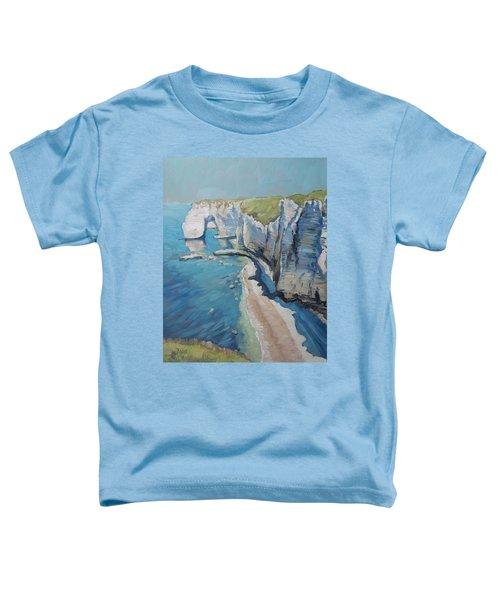 Manneport, The Cliffs At Etretat Toddler T-Shirt