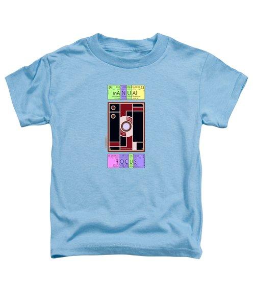 Manual Focus Toddler T-Shirt
