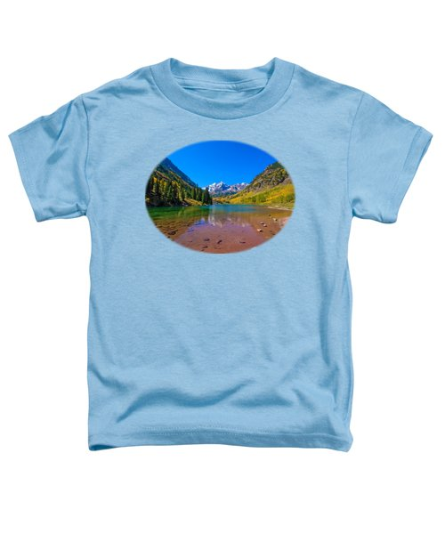 Maroon Bells Toddler T-Shirt