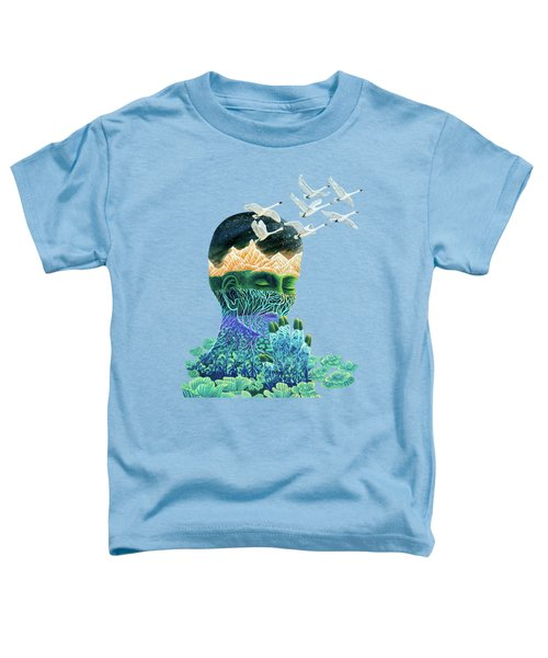 Meditation Toddler T-Shirt