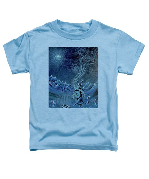 Meowtains Of The Moon Toddler T-Shirt