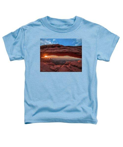 Mesa Arch At Sunrise 3, Canyonlands National Park, Utah Toddler T-Shirt
